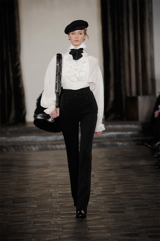 Ralph Lauren collection autumn-winter 2013-2014