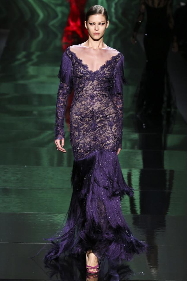Monique Lhuillier: collection autumn-winter 2013-2014