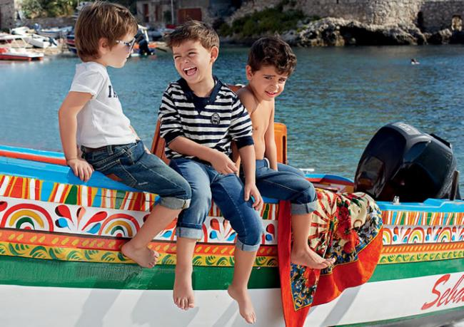 The solar childhood from Dolce & Gabbana
