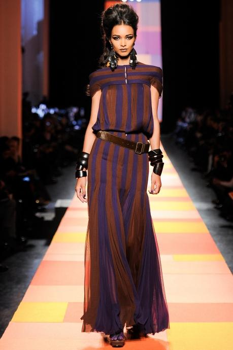 Gipsy motives from Jean Paul Gaultier