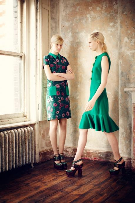 Flower compositions of Erdem