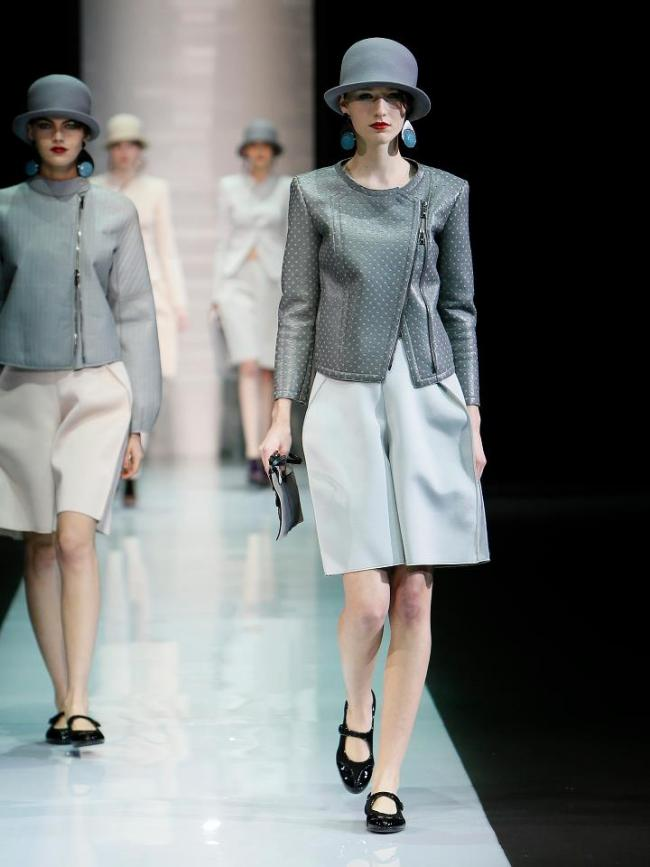 Emporio Armani collection autumn-winter 2013-2014