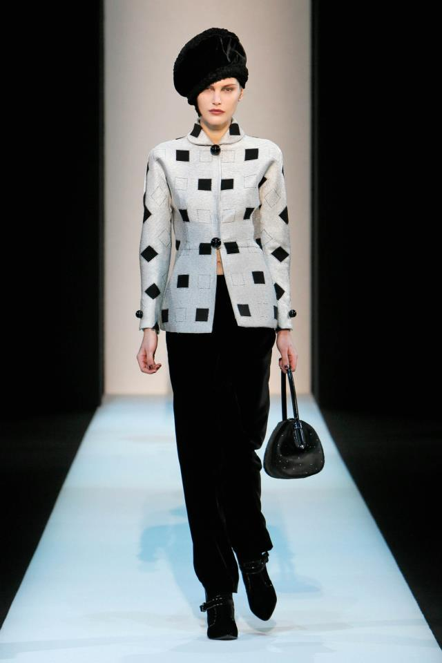 Giorgio Armani collection autumn-winter 2013-2014