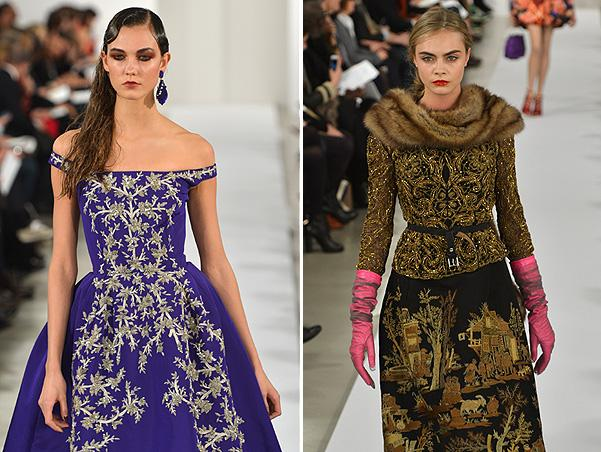 Galliano return, or new autumn of Oscar de la Renta